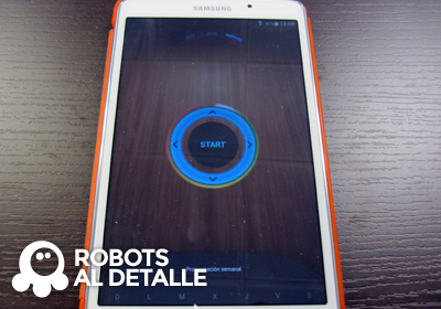 Robot Hoover Robocom RBC090 modo manual