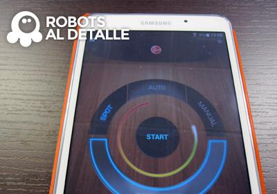 Robot Hoover Robocom RBC090 seccion mando a distancia