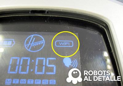 Robot Hoover Robocom RBC090 wifi activado