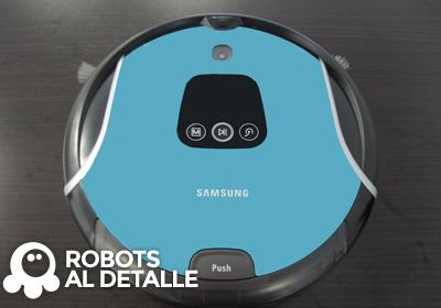 Robot aspirador samsung corner clean a 480