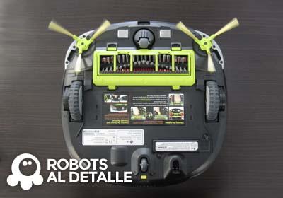 robot aspirador LG Hombot Square VR64701LVMP