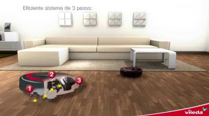 Video oficial robot aspirador Vileda Relax Plus