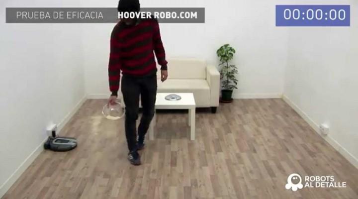 Hoover Robo.com RBC 090: Prueba de Eficacia