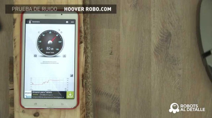Hoover Robocom RBC 090: Prueba de Ruido