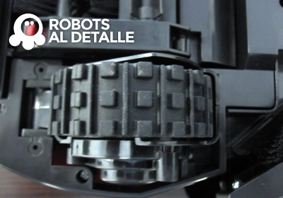 robot Vileda Relax rueda motriz
