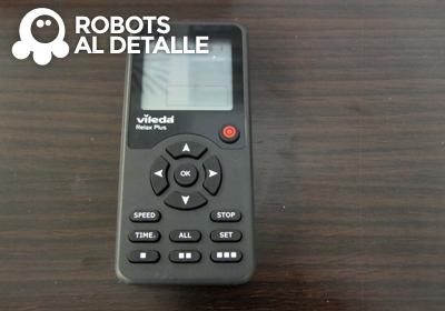 robots Vileda Relax plus mando a distancia