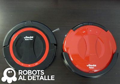 Comparamos los robots aspiradores Vileda Relax y Vileda Relax Plus