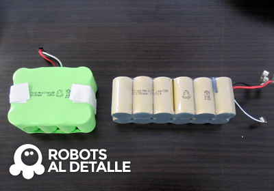 robots Vileda Relax y Relax plus baterias