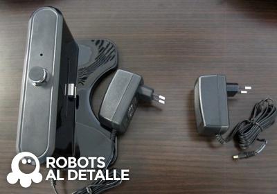 robots Vileda Relax y Relax plus cargadores