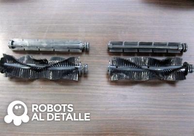 robots Vileda Relax y Relax plus cepillos centrales