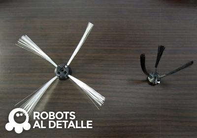 robots Vileda Relax y Relax plus cepillos laterales