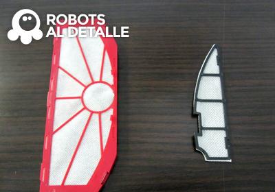 robots Vileda Relax y Relax plus filtros