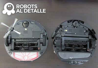 robots Vileda Relax y Relax plus parte inferior