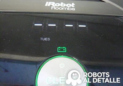 programar el iRobot Roomba 880