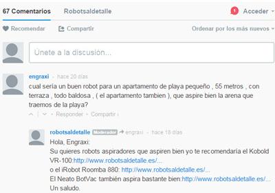 Disqus de Robots al Detalle