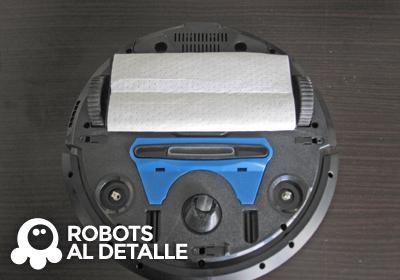 Robot aspirador Philips SmartPro soporte instalado
