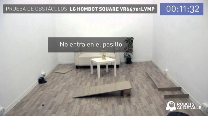 LG Hombot Square VR64701LVMP: Sistema de navegación
