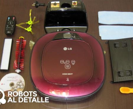 LG Hombot Square VR64701LVMP