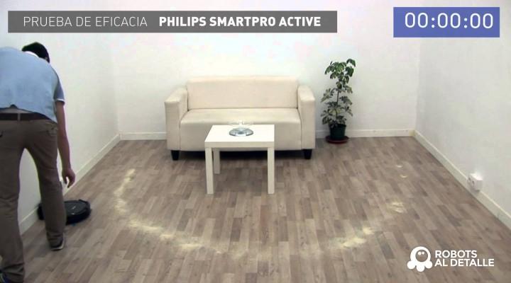 Prueba Philips SmartPro Active: Eficacia
