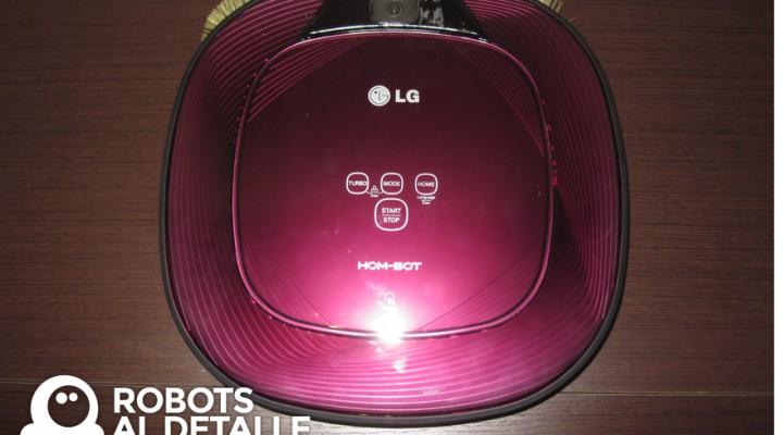 Programar robot LG Hombot Square VR64701 LVMP