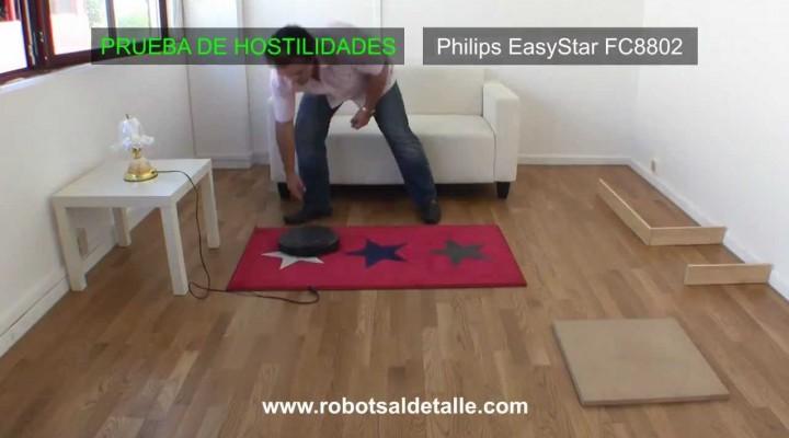 Philips Easy Star : Prueba de hostilidades