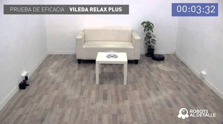 Capacidad aspiratoria del Vileda Relax Plus