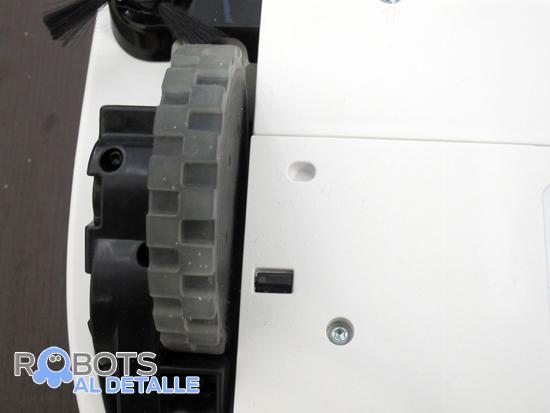 rueda motriz robot neato botvac d85