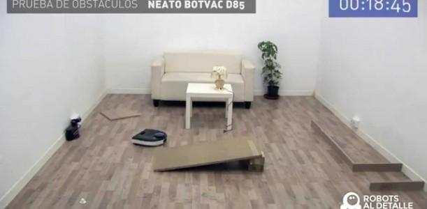 Sistema de navegación Neato BotVac D85