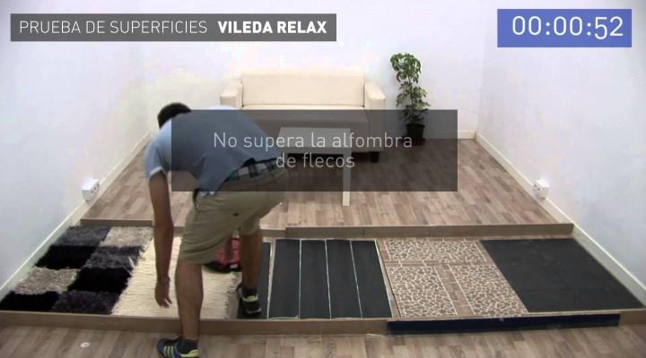 Superficies adecuadas para el aspirador Vileda Relax