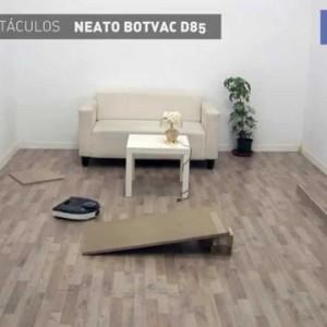 El robot aspirador Neato BotVac D85 frente a los obstáculos