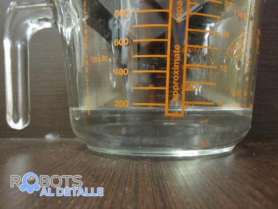 medida agua vileda relax aspirador