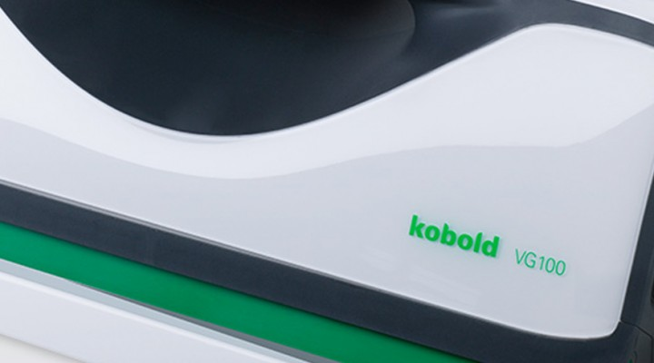 Un limpiaventanas ultrarrápido: Kobold VG100