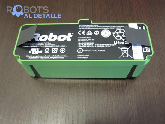 bateria robot aspirador irobot roomba 980