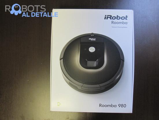caja irobot roomba 980