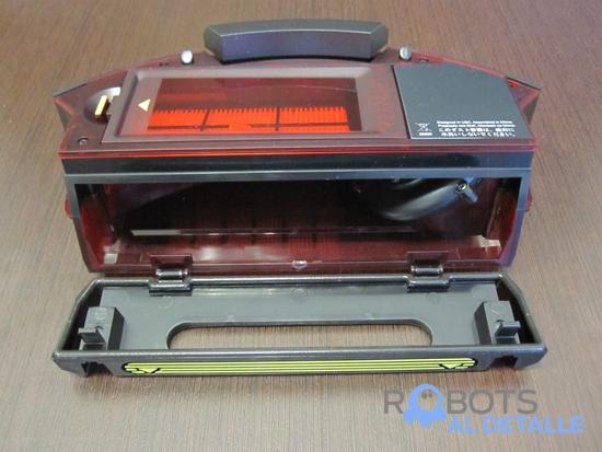 deposito abierto robot aspirador iRobot Roomba 980