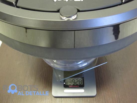 peso robot aspirador irobot roomba 980