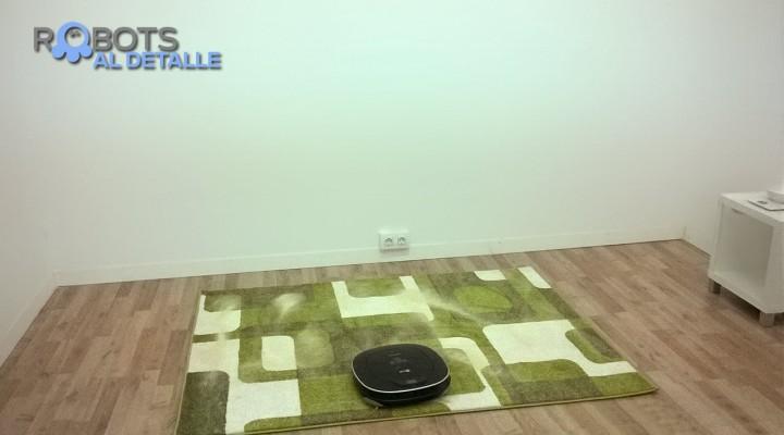 Nueva prueba de Eficacia aspiratoria en alfombras
