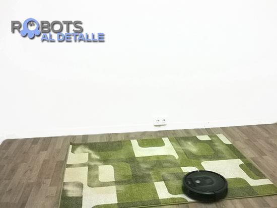 Eficacia aspiratoria en alfombras