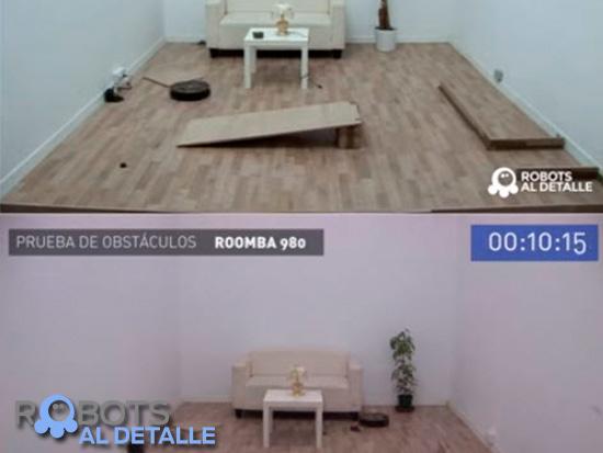 comparativa Robots aspiradores Roomba