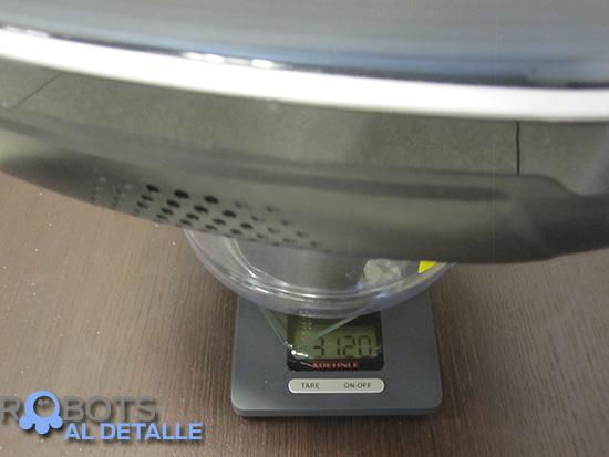 LG Hombot Square VR64604LV peso