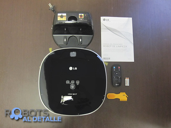 LG Hombot Square VR64604LV accesorios