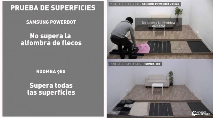 Comparativa robots aspiradores de alta gama