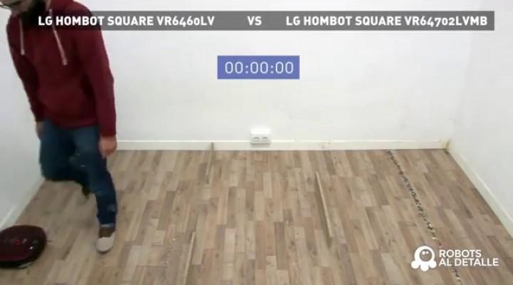 Ponemos a prueba los sensores de obstáculos de los robots LG