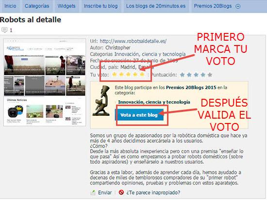 validacion voto premios 20 blogs 2015