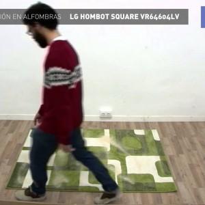 Aspiración Turbo en alfombras LG Hombot Square VR64604LV