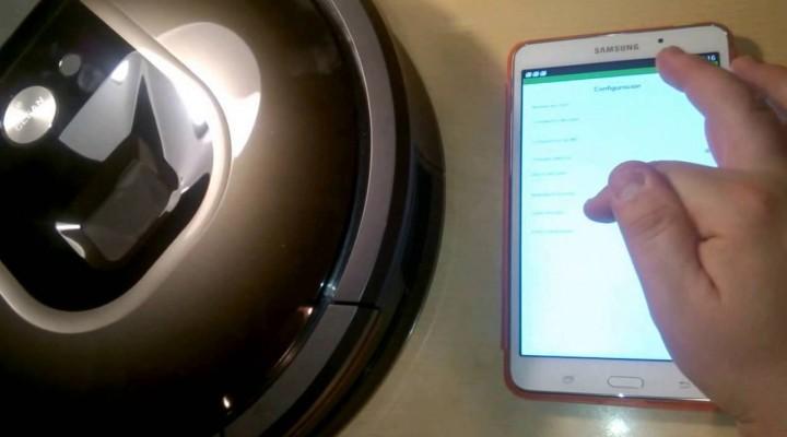 Cómo manejar el robot aspirador Roomba 980