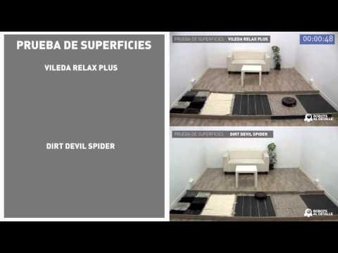 Comparativa pruebas aspiradores robots baratos