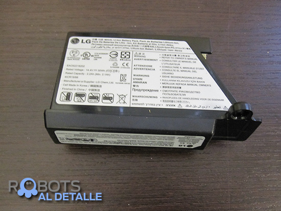 bateria robot lg