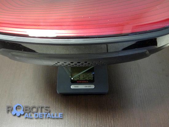 LG Hombot Square VR64702LVMB peso