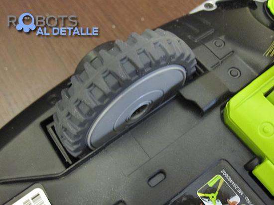 rueda motriz robot lg